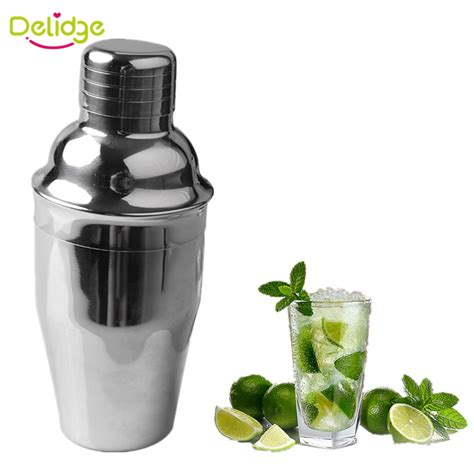 martini mixer 1 pc 250 ml 350 ml cocktail shaker stainless steel bar