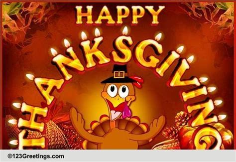 Thanksgiving Hugs & Wishes! Free Happy Thanksgiving eCards