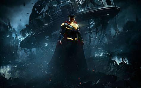 Cool Batman Logo A1813 Samsung Galaxy A5 2017 Print 3d Injustice 2 Superman Hd 4k Wallpaper Wallpapersbyte