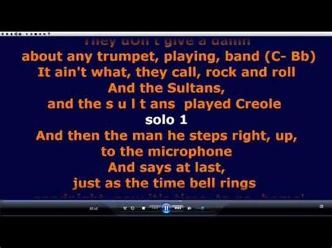 sultans of swing backing sultans of swing guitar backing track no vocals