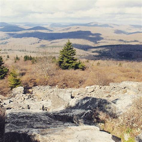 Knob Mountain by Photo From Spruce Knob Mountain Highest Elevation In Wv