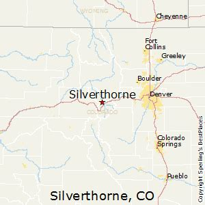 map of silverthorne colorado best places to live in silverthorne colorado
