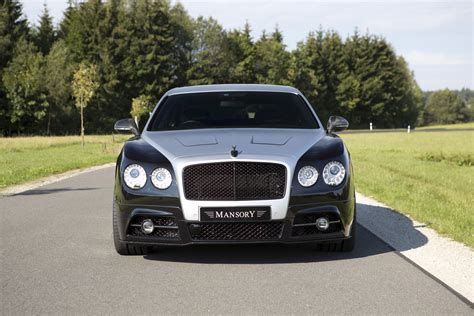 bentley flying spur modified mansory tweaked flying spur looks surprisingly tamed
