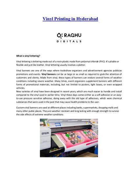 vinyl printing hyderabad vinyl printing manufacturers