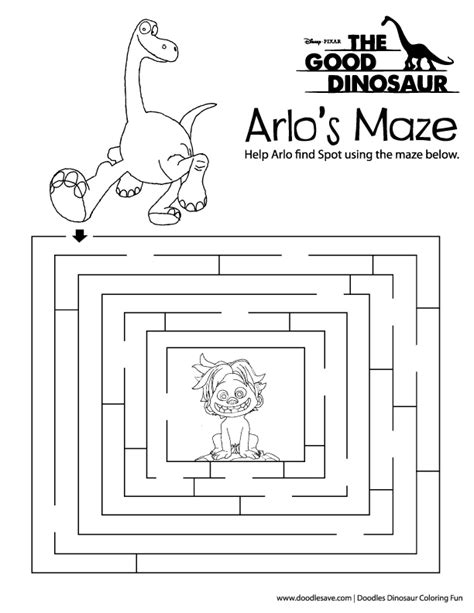 free printable disney activity sheets the good dinosaur coloring pages free activity download
