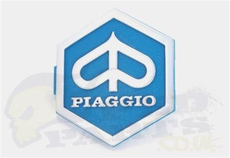 piaggio emblem badge clip in pedparts uk