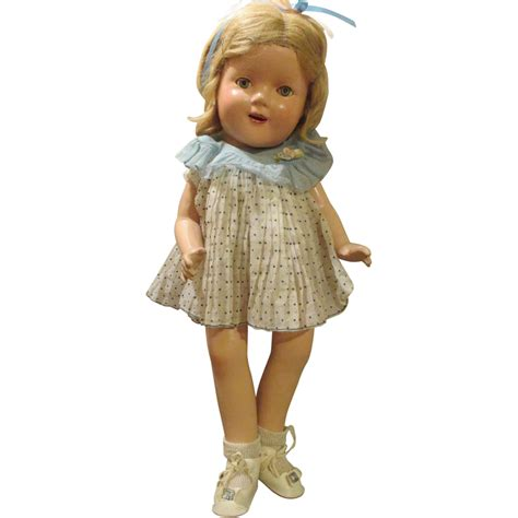 unmarked composition doll vintage composition unmarked shirley temple doll from