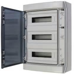 coffret 233 tanche ip65 3x18 modules