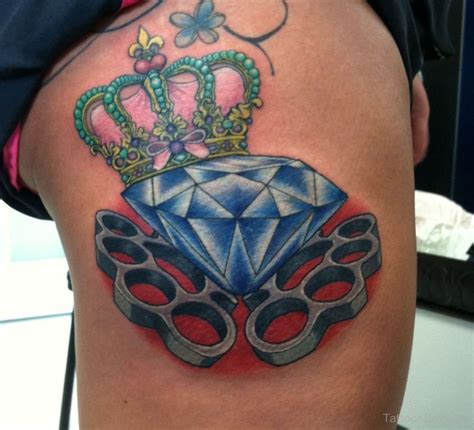 tattoo diamond and crown diamond tattoos tattoo designs tattoo pictures page 13