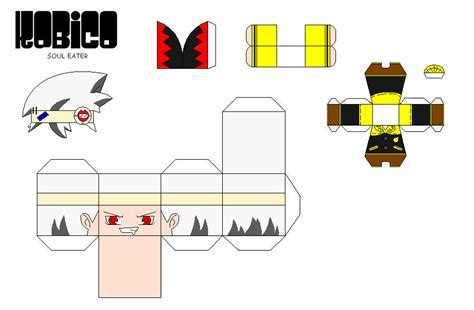 Soul Eater Papercraft - paper craft kobico soul eater by andriwvb999 on deviantart