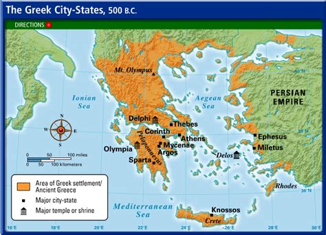 state city map maps of ancient greece 6th grade social studies