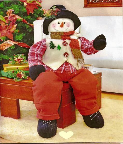moldes munecos navidenos navidad moldes para hacer bellos mu 241 ecos navide 241 os