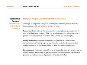 Qualitative Research Design Paper by Media Quantitative And Qualitative Research 2012