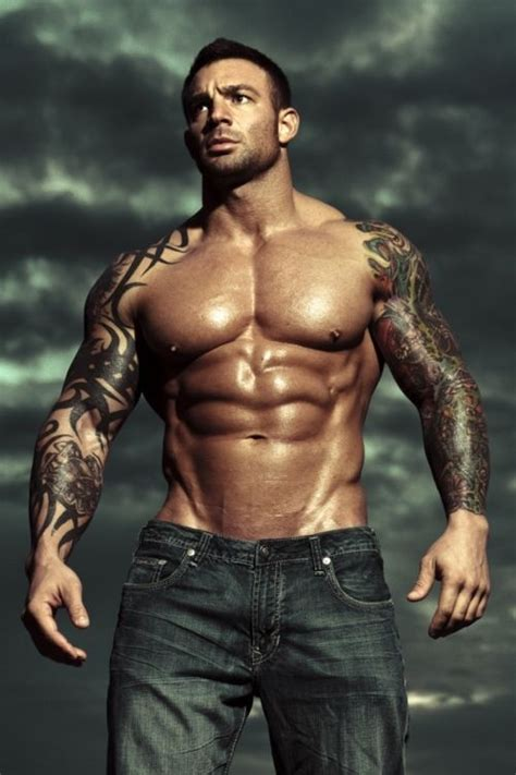 bodybuilders with tattoos sleeves tattoos tattooed