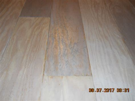 Distressed Plywood Floor - distressed plywood plank floor whitewashed mountain home