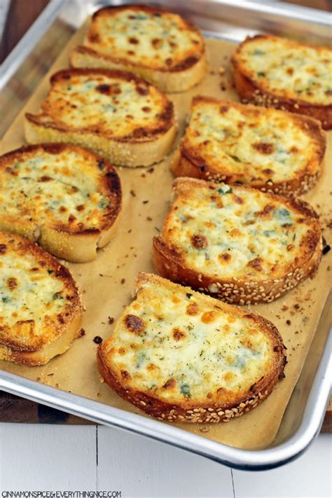 Recipes For Toaster Oven Cheesy Garlic Bread A Thank You Cinnamon Spice