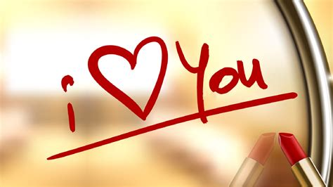 images of love written i love you written by lips stick new hd wallpapernew hd