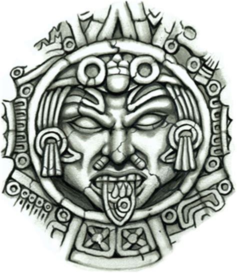 airbrush tattoo bandung aztec sun medallion cultura sure 241 a mexicana