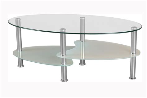 Oval Glass Coffee Table Oval Glass Coffee Tables