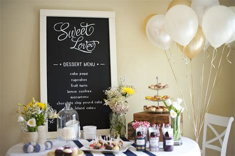 rowing inspired styled shoot southern bridal shower