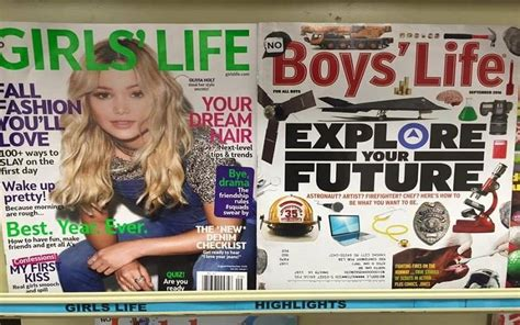 mother slams teen magazine  difference  girl  boy