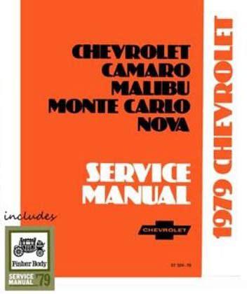 free auto repair manuals 1979 chevrolet camaro on board diagnostic system 1979 chevrolet camaro monte carlo nova factory shop manual on cd rom