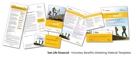 Ralf Wall Graphic Designer Sun Life Financial Portfolio Marketing Material Templates