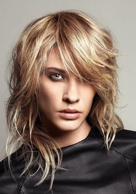 hair with layers on crown asymmetrical haircuts long hair