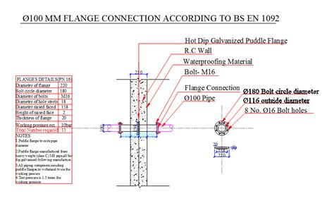Duplex Building Plans tank puddle flanges dwg section for autocad designs cad