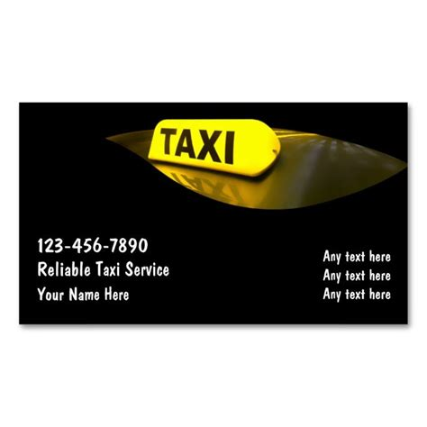 Limo Company Business Card Template by 17 Best Images About Limo Taxi Business Cards On