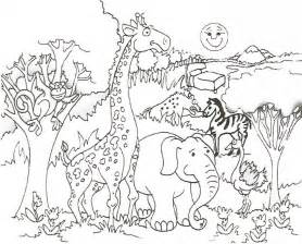 safari coloring pages safari animal coloring pages coloring home