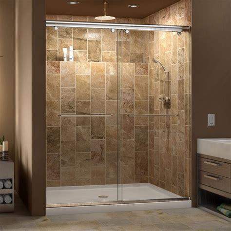 32 Inch Shower Door Dreamline Charisma Frameless Bypass Sliding Shower Door