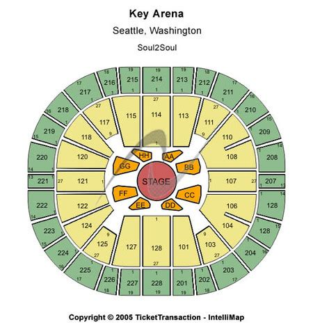 key arena seating pink key arena tickets and key arena seating charts 2017 key