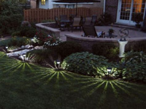 solar outdoor landscape lighting