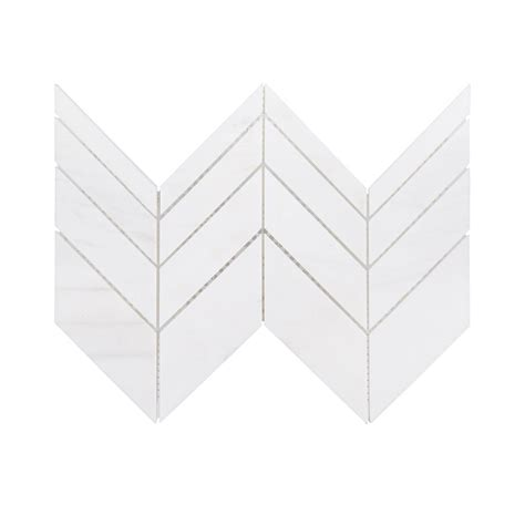 jeff lewis tile jeff lewis mapleton 7 in x 12 in x 10 mm marble mosaic
