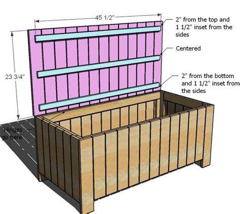 storage bench plans woodworking wood garden storage box plans woodworking projects plans