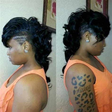 cute sew in hairstyles for shaved sides 17 best images about hair style moooo on pinterest