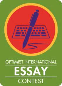 International Essay by Pnw Optimist Clubs Optimist International Essay Contest Update