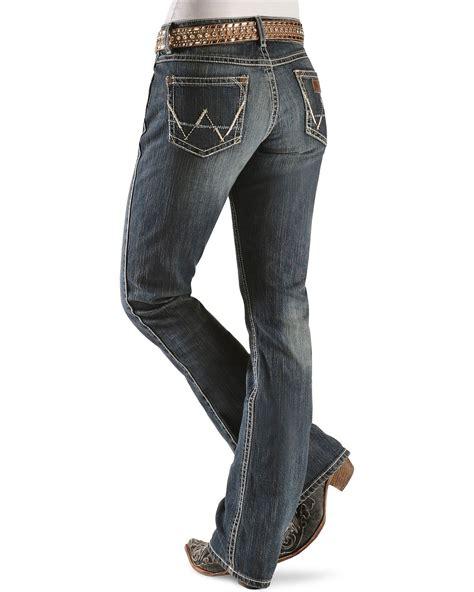 low rise boot cut wrangler premium patch s mae low rise boot cut