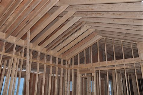 How To Frame A Cathedral Ceiling by Serendipity Refined Farmhouse Construction Update