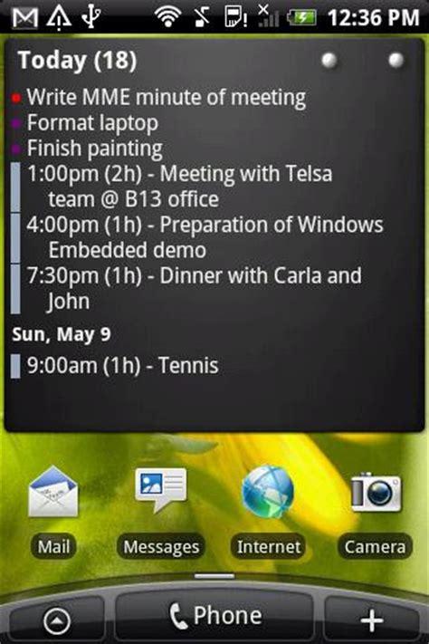 Best Calendar Widget Die Besten Kalender Widgets F 252 R Android Agenda Widgets