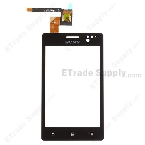 Lcd Xperia Go St27i sony xperia go st27i digitizer touch screen etrade supply