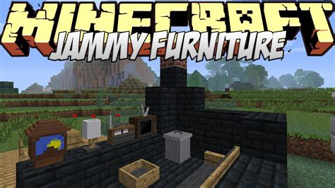 Minecraft The Furniture Mod by Minecraft Mods Showcase Jammy Furniture Mod 1 8 1 7