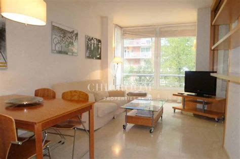 furnished  bedroom apartment  rent pedralbes