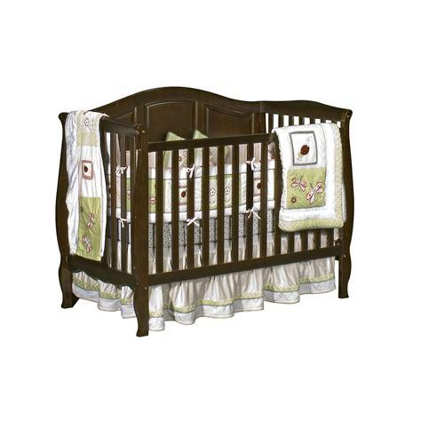 baby sleigh crib dorel vintage estate 3 in 1 sleigh crib espresso baby