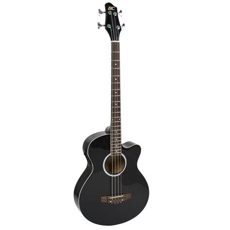 Gitar Akustik Equalizer Digitar new black electric acoustic bass guitar with equalizer
