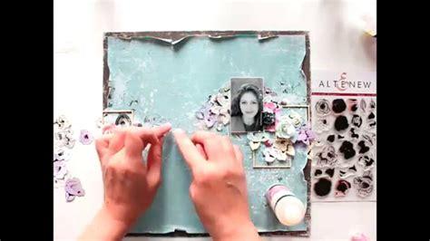 scrapbooking layout youtube altenew scrapbooking layout tutorial from elena morgun