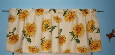 sunflower valance kitchen curtains 17 best images about redoing kitchen ideas on