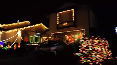 south san francisco naighborhood christmas lights youtube