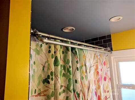 how to fix a shower curtain rod how to fix a loose shower curtain rod curtain